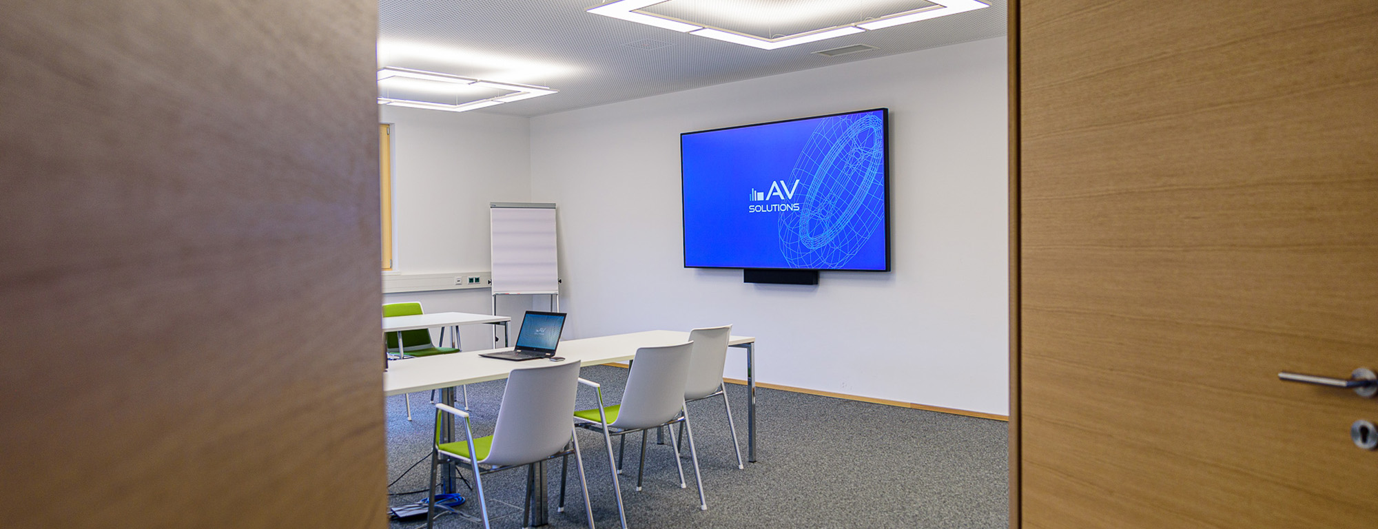 Konferenzräume am neuesten Stand der Technik
