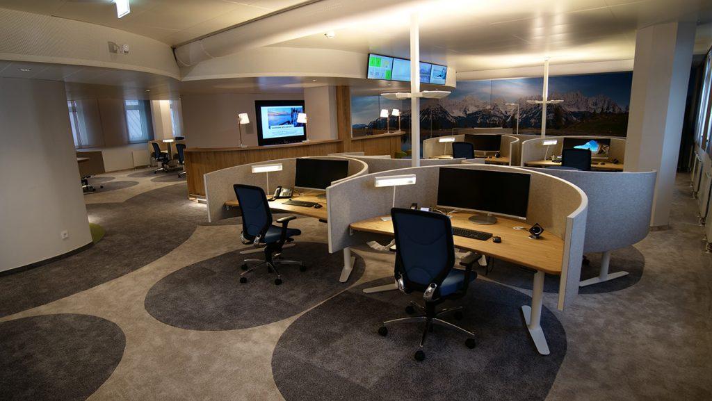 Infoscreens in Bank