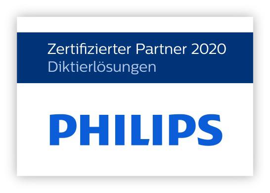 Philips Zertifizierter Partner 2020 Diktierlösungen I AVsoltions