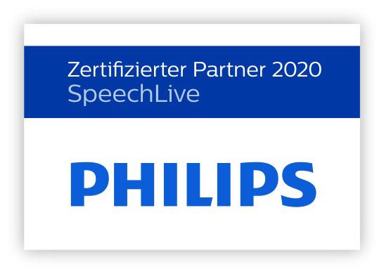 Philips SpeechLive Zertifizierter Partner