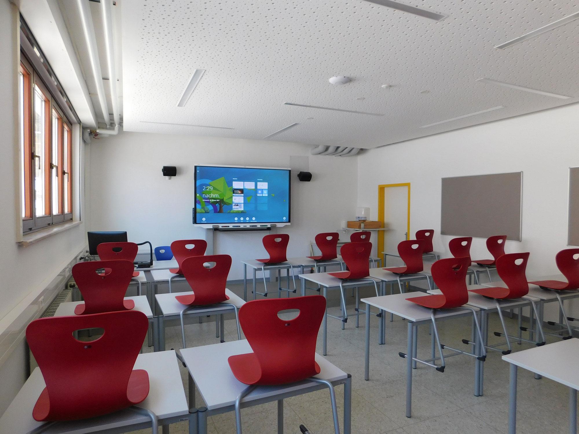Der Klassenraum der Gegenwart (und Zukunft)