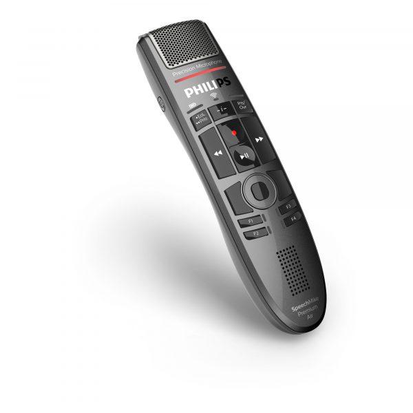 Philips Diktiersysteme Arztpraxis Krankenhaus Anwalt - Kabelloses Diktiermikrofon - SMP4000 I AVsolutions