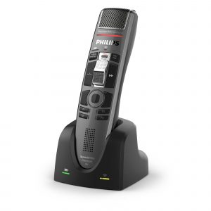 Philips Diktiersysteme Arztpraxis Krankenhaus Anwalt - Kabelloses Diktiermikrofon - SMP4010 I AVsolutions